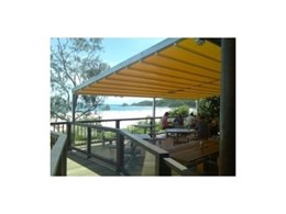 SkyMax retractable roof systems from Melbourne Shade Systems