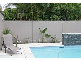 SlimWall designer boundary fences from Modular Wall Systems