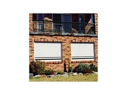 Slimline security shutters from Rollashield are ideal for domestic security