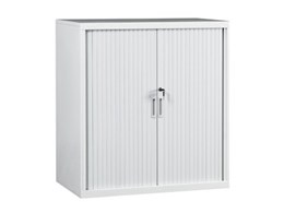 Slimline tambour door cabinets available from Dexion