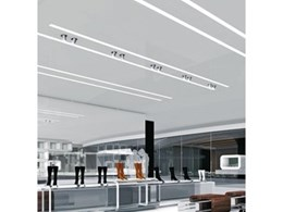 Slotlight II luminaire available from Zumtobel Lighting