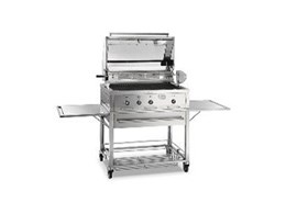Smeg 90cm stainless steel BQ90TA barbeque from Omega Appliances