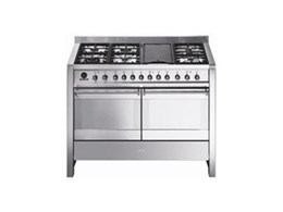 Smeg CSA122X oven, cooktop available from Omega Appliances