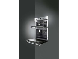 Smeg introduces new double ovens to stainless steel range