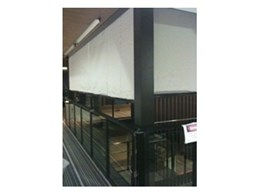 Smoke Control install fire curtain to Santos House in Queensland