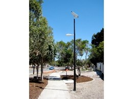Solar powered lights from Orion Solar used for Bribie Island pathways