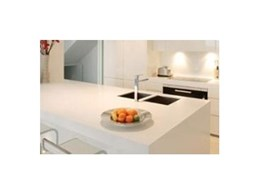 Solid surface finishes for residential applications