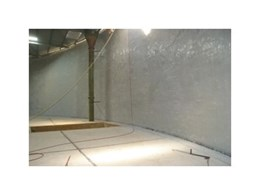 South Taylor water reservoir undergoes waterproofing and protection with polyurethane coating