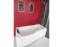 Space and safety ensured with walk-in spa baths and shower by Safe Bath