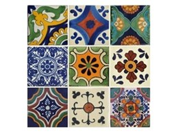 Spanish, Mexican and Moroccan hand painted tiles available from Old World Tiles