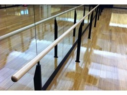 Specialty Theatre installs professional-grade dance and ballet barres at UTS, Sydney