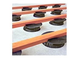 SpiraPave adjustable low height decking supports available from Elmich Australia