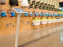 Sprocket iPad stands featured at the 'Melbourne Now' exhibition at National Gallery of Victoria