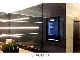 Sprocket's new digital directory debuts at Clarence St refurb