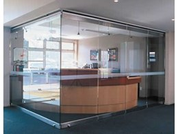 Stacking doors from Metro Frameless Glass Systems