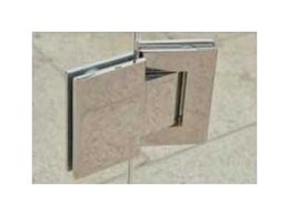 Stainless steel hydraulic hinges from Dimension One Glass Fencing