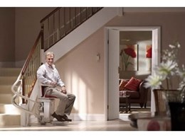 Stannah curved electric stair lifts from P.R. King & Sons