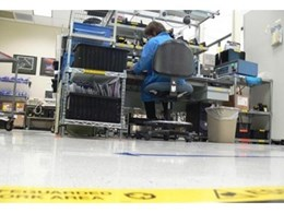 Staticworx EC rubber anti static flooring now available in Australia from Dalsouple