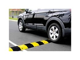 Steel speed humps for standard and heavy duty