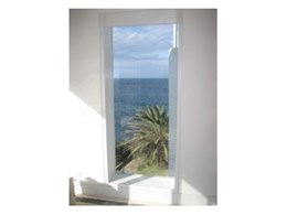 Stopline fixed fire window system from Smoke Control installed at Bondi
