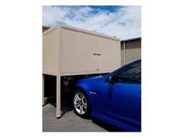Storsafe over bonnet storage systems newly available from Mailsafe Mailboxes