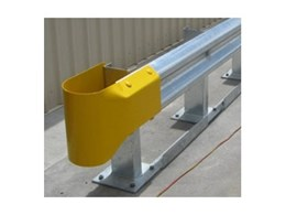 Stubby Nose end for guardrails available from Armco Barriers