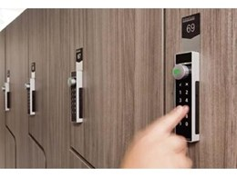 Stylish and secure timed digital locks available from Interloc Lockers