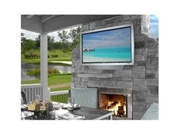 SunbriteTV outdoor weatherproof televisions, distributed by Herma Technologies