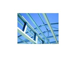Supaloc steel roof trusses