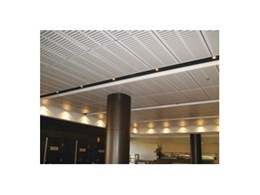 Supatile 10 fully accessible timber ceiling panels by Supawood Architectural Lining Systems