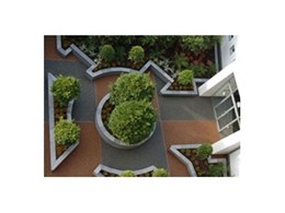 SuperStone decorative paving from MPS Paving installed at Cabrini Hospital