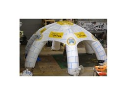 Superdome inflatable buildings available from Giant Inflatables