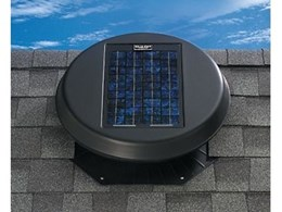 Supress heat build up in roof spaces with solar powered ventilation systems from Planet Green Insulation