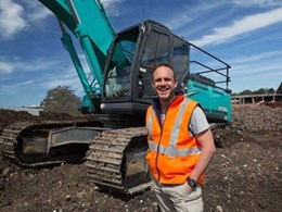 Sydney waste processor relies on Kobelco excavators for zero-waste goal