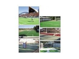 Synthetic grass and rubber wetpour for playgrounds available from Synthetic Grass & Rubber Surfaces