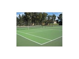 Synthetic surfaces from TigerTurf provided for Perth's Tennis Seniors Robertson Park facility