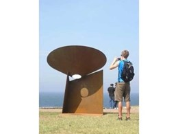 T.W. Woods helps Islington artist create spectacular sculpture for Sculpture By The Sea, Sydney