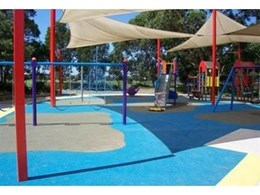 TPV playground installed at Timbrell Park