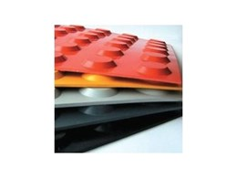Tactile™ rubber flooring in new colour: orange