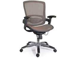 Tedo executive office mesh chair available from Endo Commercial Fitout