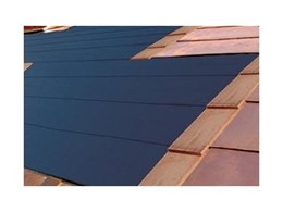 Tegosolar photovoltaic roof tiles available now from Copper Roof Shingles