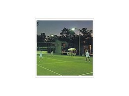 Tennis court lights from SES Lighting