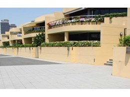 Terrazzo pavers from Terrazzo Australian Marble ideal for outdoor areas