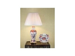 The Chinese Imari Porcelain AntiqueTable Lamp from The Antique and Vintage Table Lamp Co