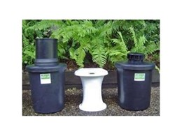 The Classic 650 composting toilet systems from Ecoflo Water Management