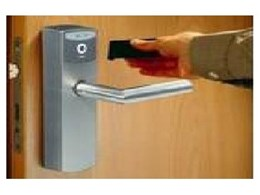 The Dialock electronic locking system from Hafele Australia