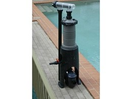 The MultiCyclone Ultra pool filtration system from Waterco