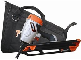 The PowerMaster PF350S framing nailer, new from Paslode