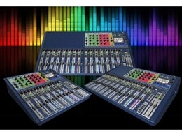 The all new Soundcraft Si Expression audio mixing consoles