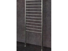 Thermorail FC70 floor to ceiling heated towel rails now available from Thermogroup